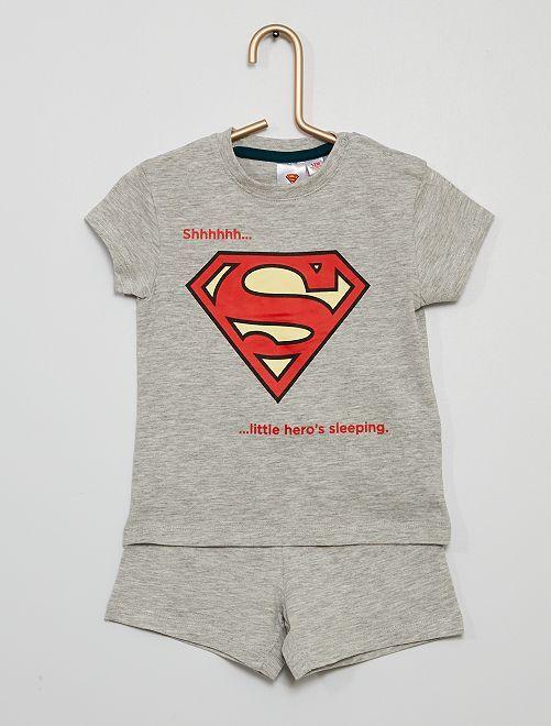 Pijama corto 'Superman'                             GRIS