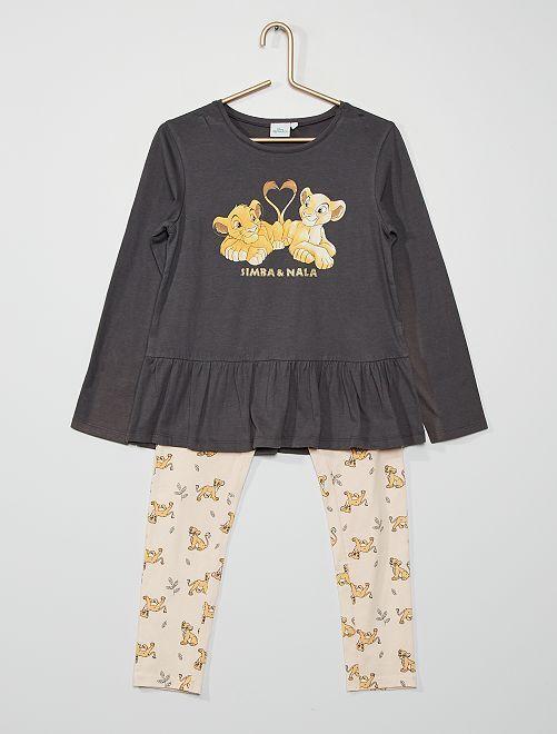 Pijama de 2 piezas 'Disney'                                         ROSA