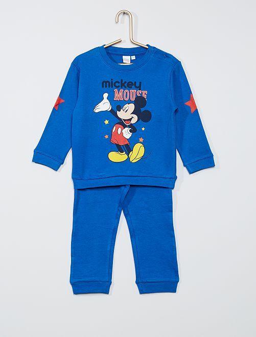 Pijama de 2 piezas 'Mickey'                                         azul