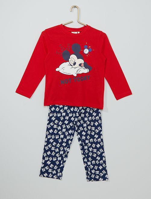 Pijama de 2 piezas 'Mickey'                                         ROJO