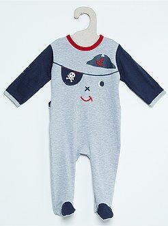 Niño 0-24 meses Pijama de algodón estampado