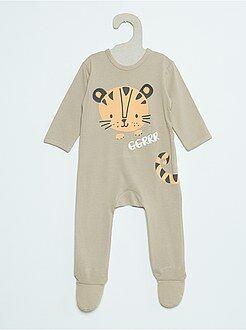 Niño 0-36 meses Pijama de algodón