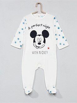 Niño 0-36 meses - Pijama de algodón 'Mickey' - Kiabi