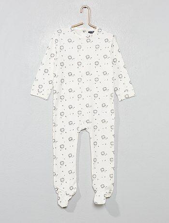 Niño 0-36 meses - Pijama de algodón puro  león  - Kiabi bff38b82671