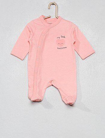 Niña 0-36 meses - Pijama de algodón puro - Kiabi 841babe2a797