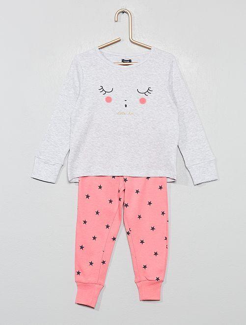 Pijama de algodón puro                                                                 ROSA