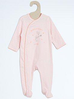 Pijamas, batas - Pijama de algodón