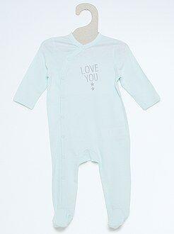 Niña 0-24 meses Pijama de algodón