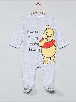 Pijamas - Pijama de algodón 'Winnie the Pooh' - Kiabi