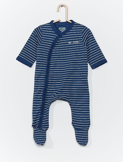 Pijama de punto eco-concepción                     AZUL