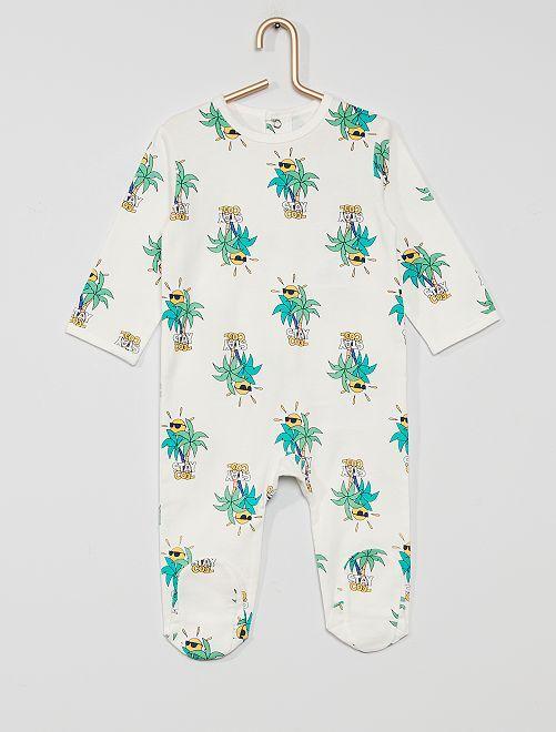 Pijama de punto 'eco-concepción'                                                                                                                                                                                                                                                                 palma