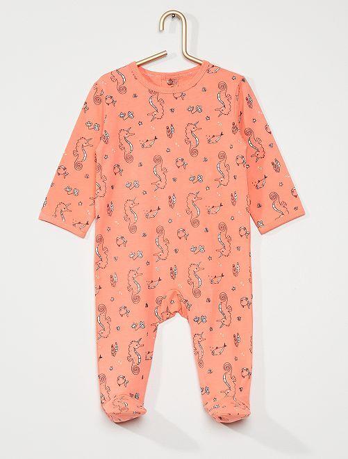 Pijama de punto 'eco-concepción'                                                                                                                                                                                                                                                                 ROSA