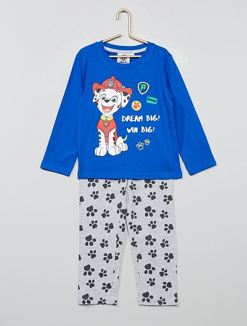 Pijama de punto 'La Patrulla Canina'                                                     AZUL