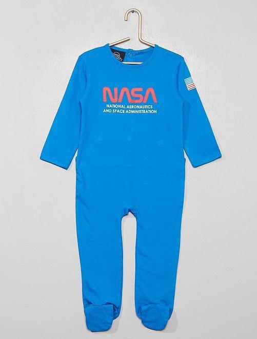 Pijama de punto 'NASA Space Adventure'                             azul