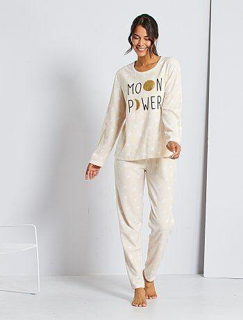 Pijamas Lenceria De La S A La Xxl Beige Kiabi