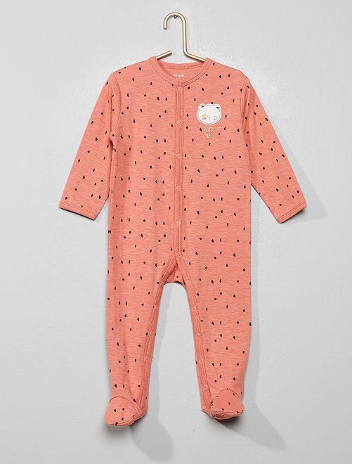 Pijama de punto 'rock'                             ROSA