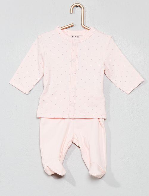 Pijama de punto                                                                 ROSA