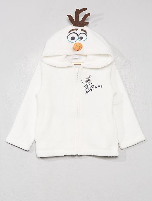 Pijama de tejido polar 'Olaf'                                         BLANCO