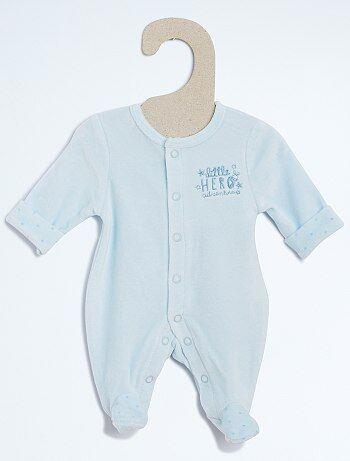 Pijama de terciopelo - Kiabi