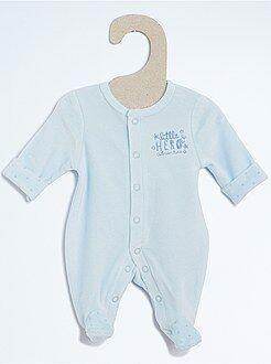 Niño 0-36 meses - Pijama de terciopelo - Kiabi