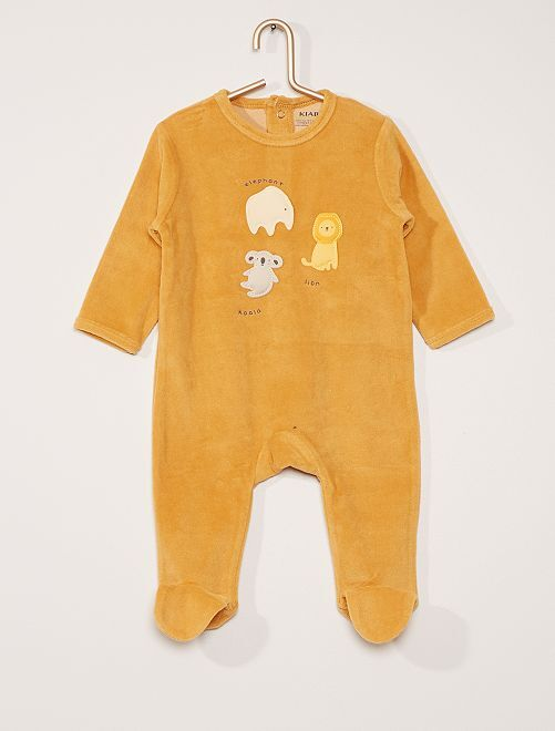 Pijama de terciopelo                                                                                                                                                                                                                                                                             NARANJA