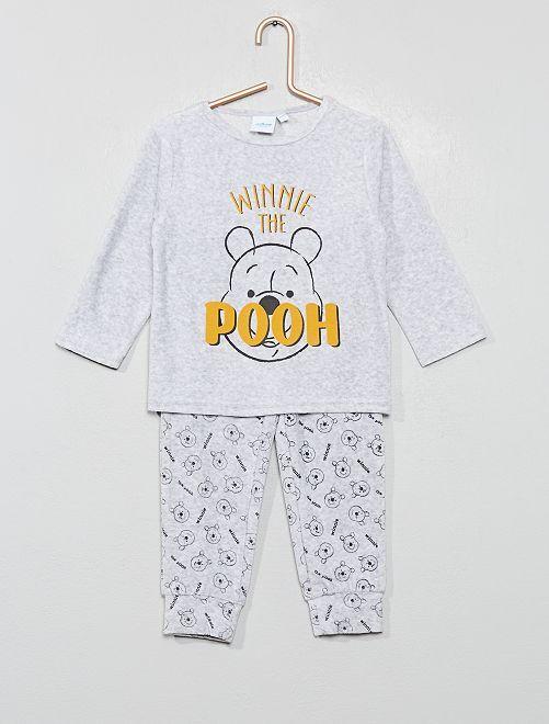 Pijama de terciopelo 'Winnie The Pooh'                                         winnie
