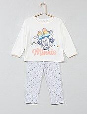 Pijama de terciopelo y punto 'Minnie'