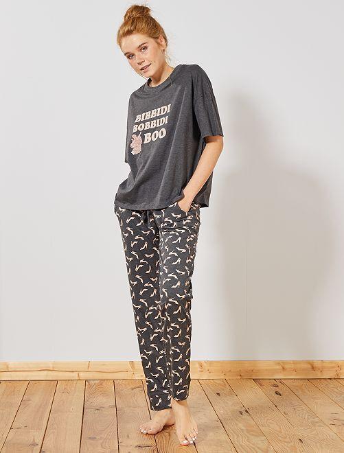 Pijama 'Disney'                                                                 GRIS