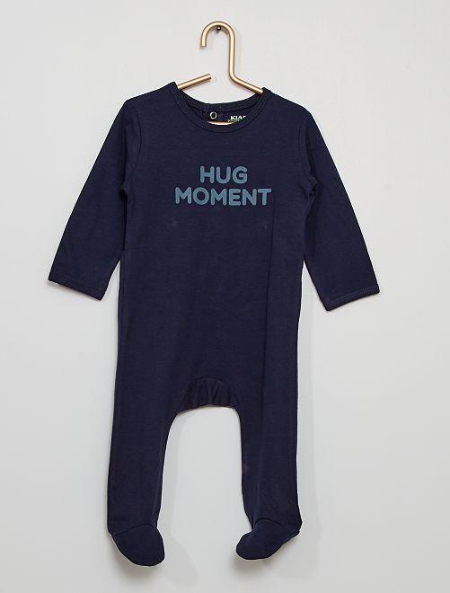 Pijama eco-concepción                                                                                         AZUL
