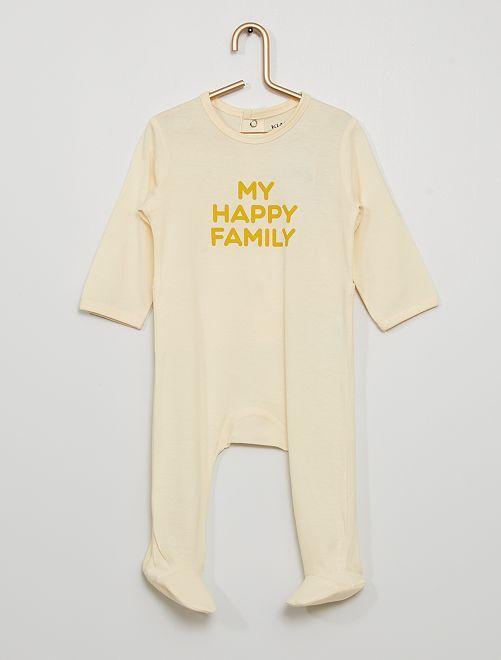 Pijama eco-concepción                                                                                         BLANCO