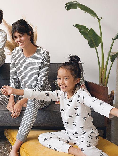 Pijama 'eco-concepción'                             BLANCO