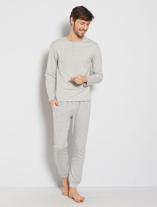 Pijama 'eco-concepción'                             GRIS