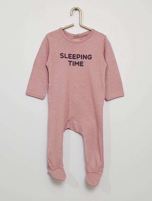 Pijama eco-concepción                                                                                         PURPURA