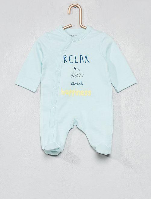 Pijama estampado                                                                 AZUL Bebé niño