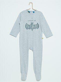 Niño 0-36 meses Pijama estampado 'Batman'