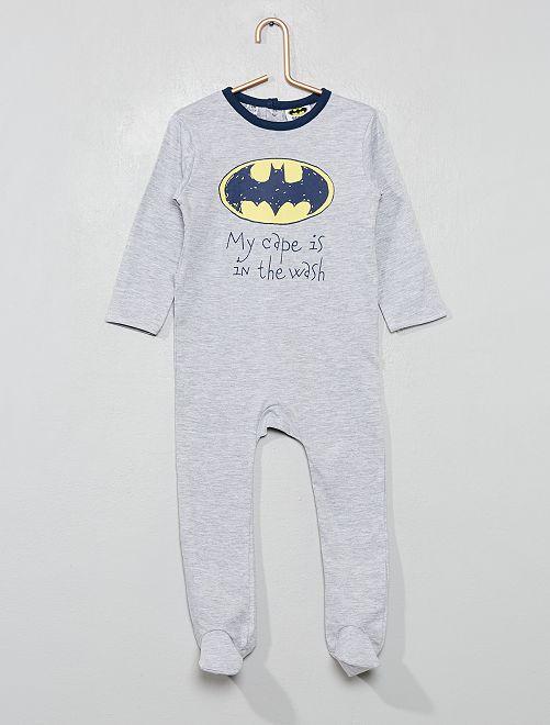 Pijama estampado 'Batman'                             GRIS Bebé niño