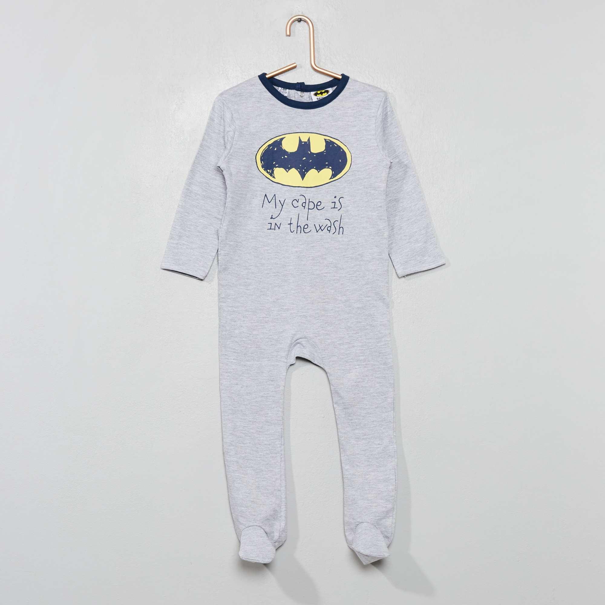 0c4057afa Pijama estampado 'Batman' GRIS Bebé niño. Loading zoom. Haz clic en la  imagen para agrandar. zoom
