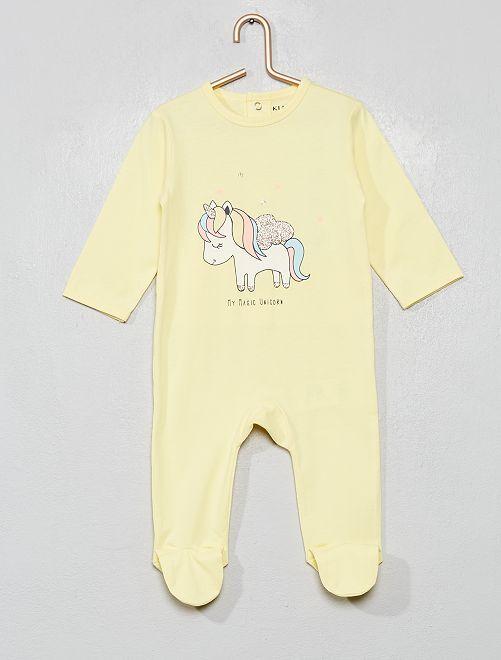 Pijama estampado                                                                                                                                                                 BLANCO