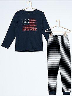 Pijamas - Pijama estampado