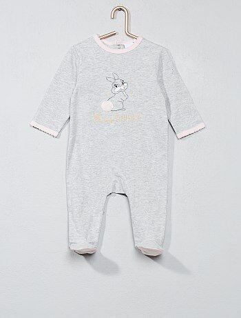 Pijama estampado 'Conejita' - Kiabi