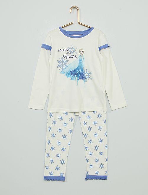 Pijama estampado 'Frozen'                             beige/azul