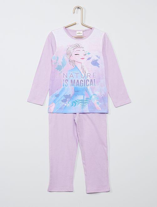Pijama estampado 'Frozen'                                         violeta