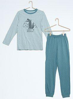 Pijama estampado - Kiabi