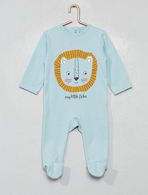 Pijama estampado                                                                                                                                                                                                                             león