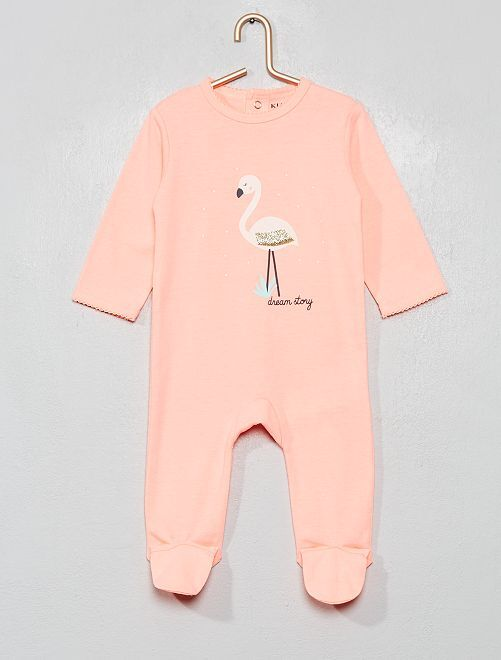 Pijama estampado                                                                                                                                                                                                                 rosa