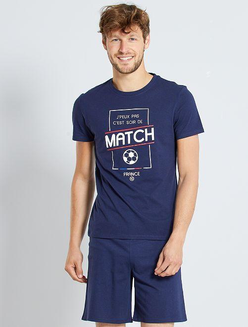 Pijama 'fútbol'                             AZUL