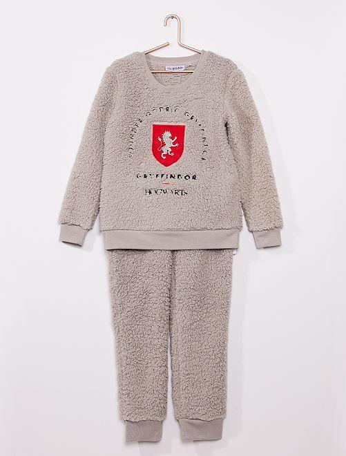 Pijama 'Harry Potter' forro                             gris