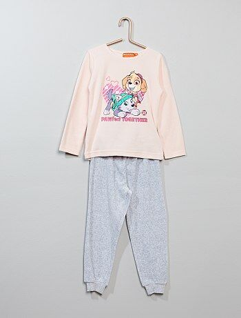 Pijama 'La Patrulla Canina' de terciopelo - Kiabi