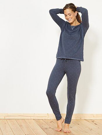 Pijama largo - Kiabi