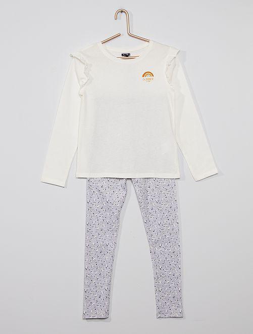 Pijama largo                                         AZUL